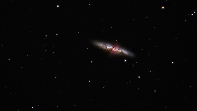 Messier 82 mit SN 2014 J