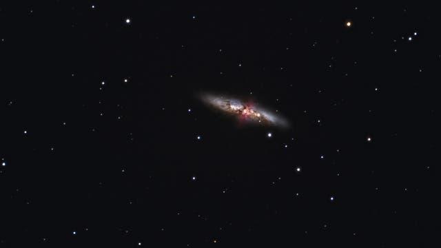 Messier 82 mit Supernova 2014J
