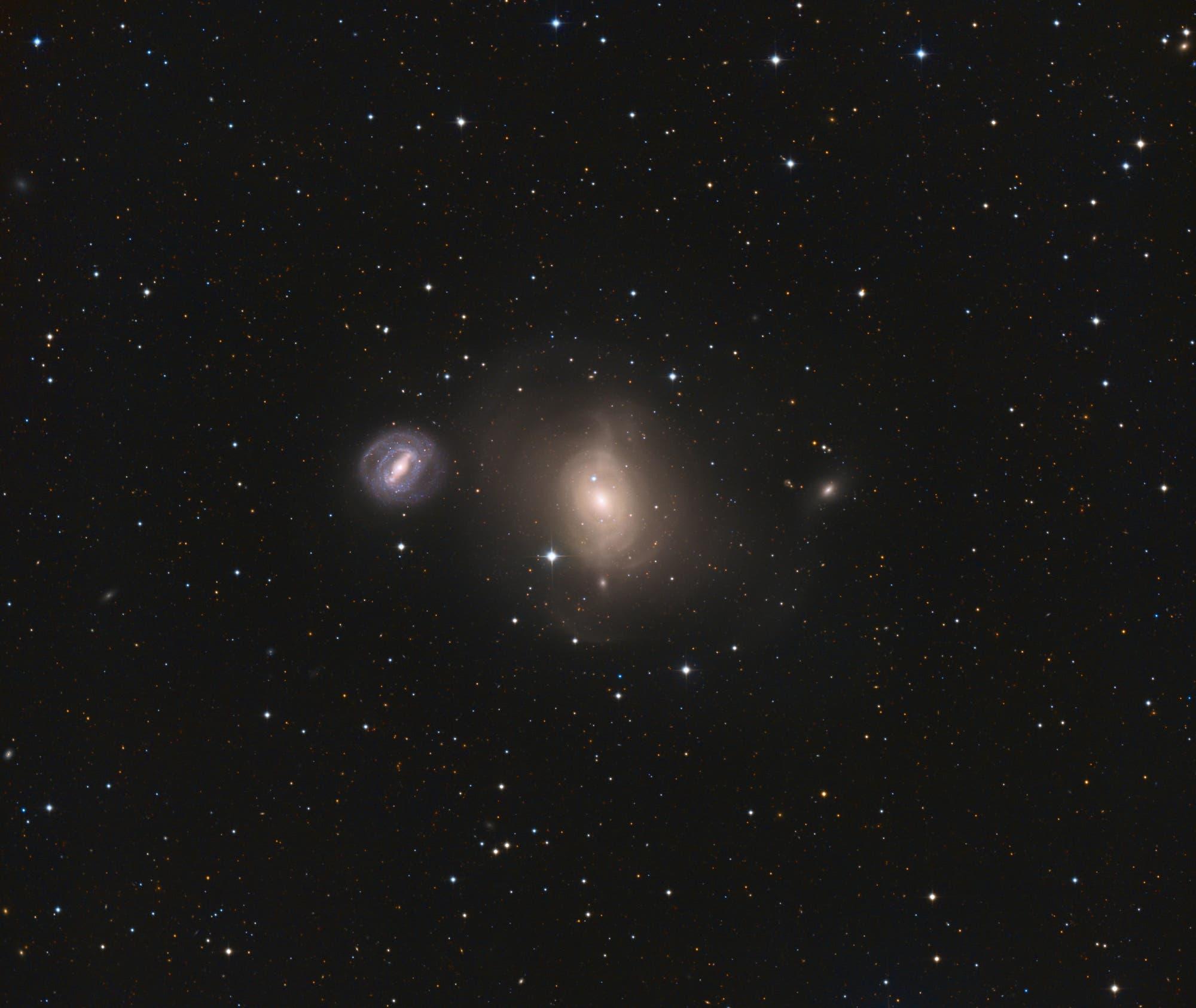Messier 85 Wimmelbild