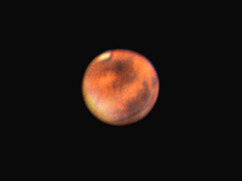 Mars am 16.3.2012