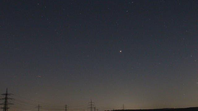 Mars im Sternbild Steinbock