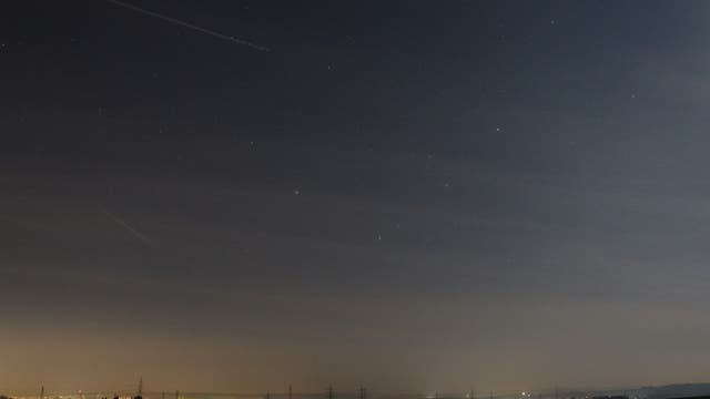 Mars und Saturn am Morgenhimmel