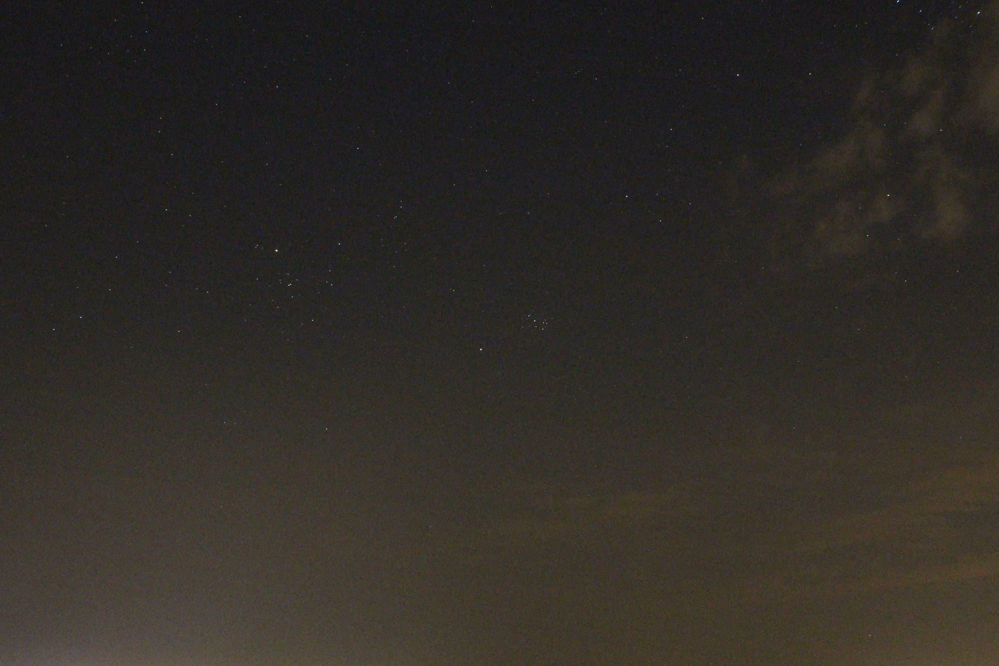 Mars im Sternbild Stier