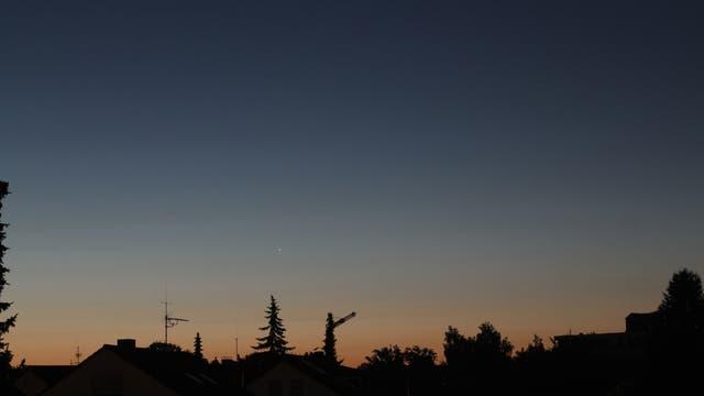 Konjunktion Mars-Jupiter am 22. Juli 2013
