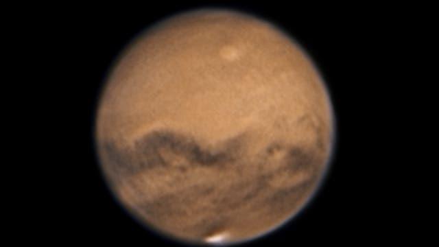 Mars am 13. Oktober 2020