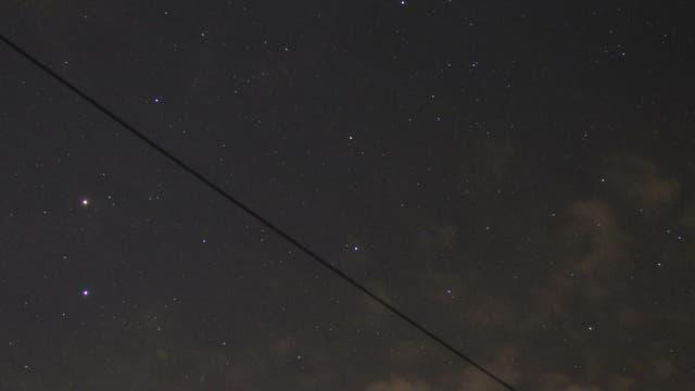 Mars am Morgenhimmel
