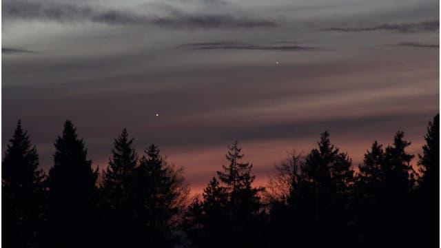Merkur bittet Venus zum Tanz in den Frühling