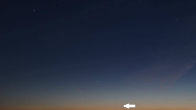 Merkur am Abendhimmel -2
