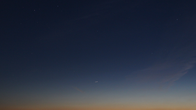 Merkur am Abendhimmel -1