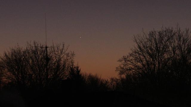 Merkur in der Morgendämmerung