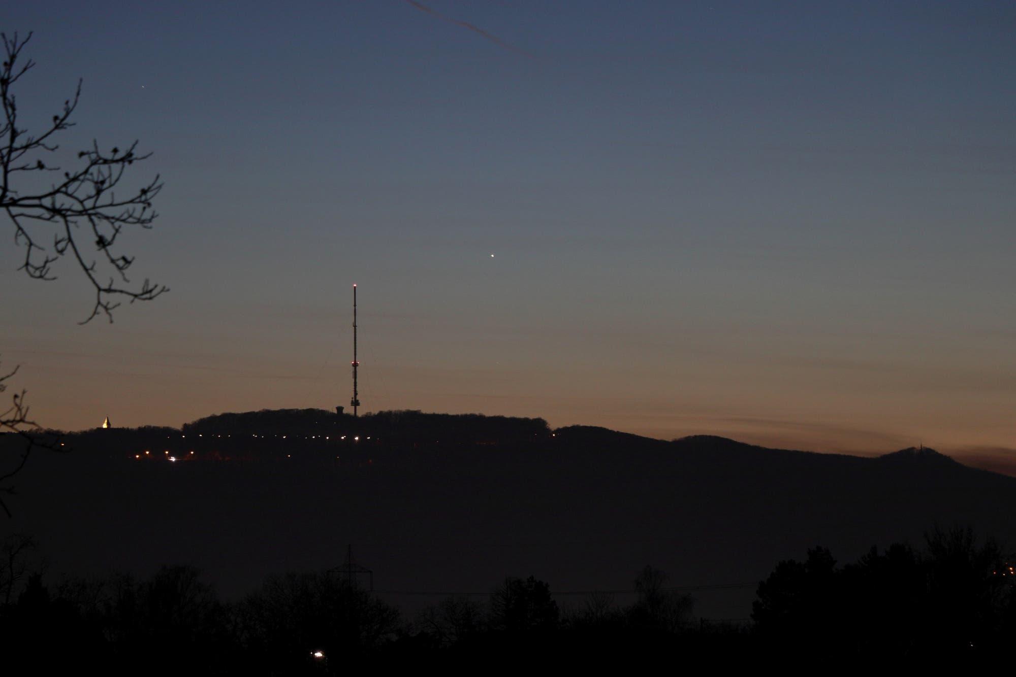 Merkur am Abendhimmel - 2