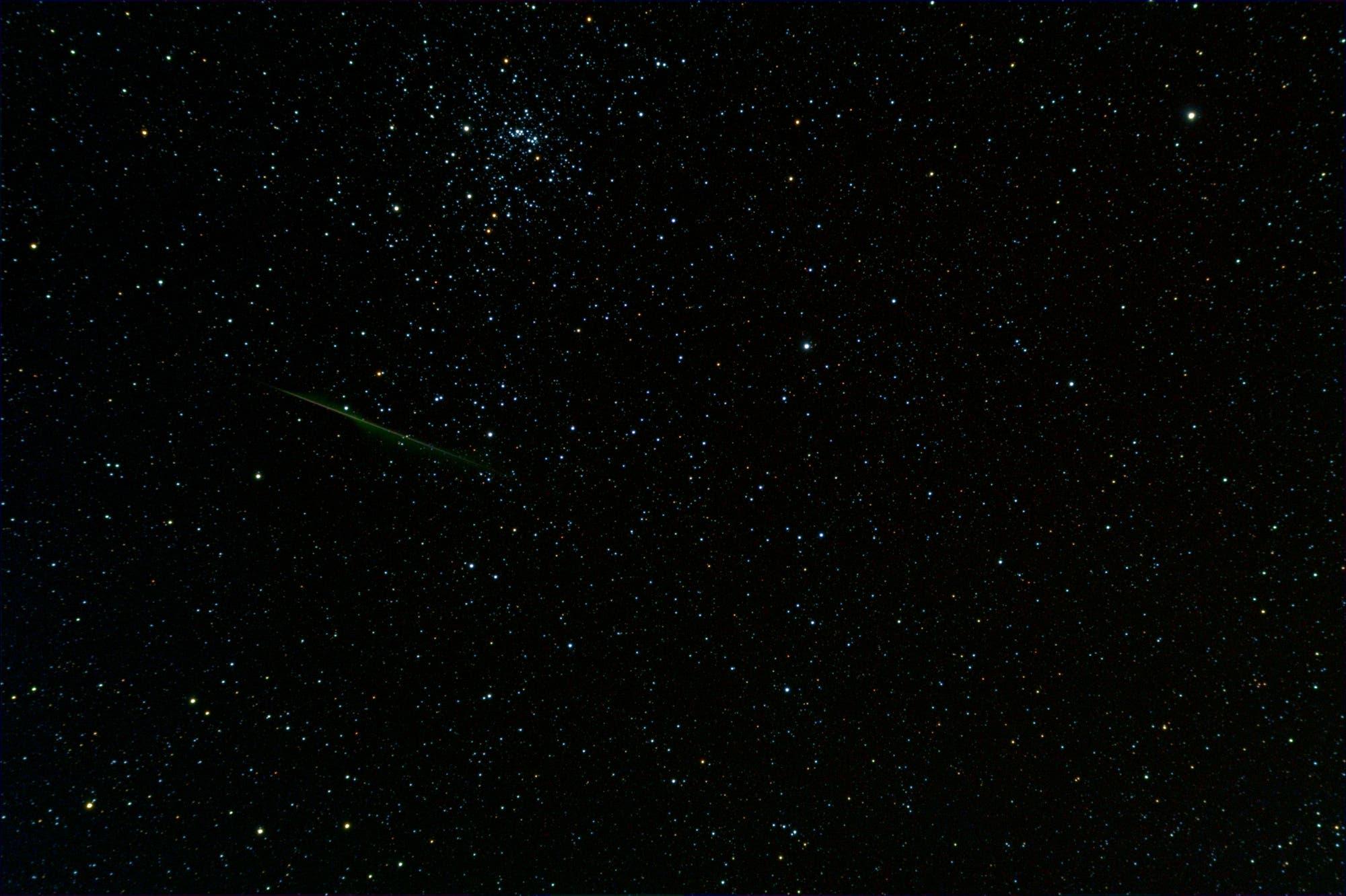 Meteor bei NCG 869