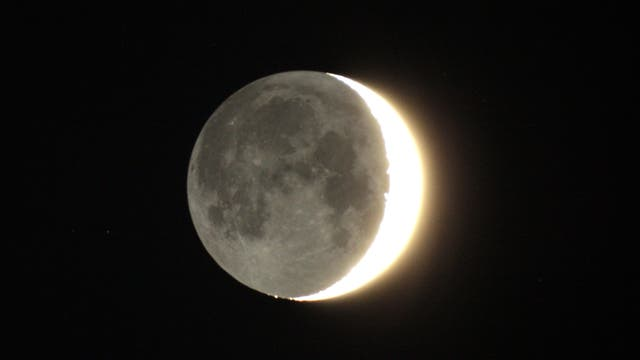 """""""The Old Moon in the New Moon´s arms"""""""