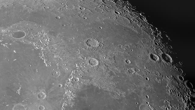 Der Mond am 25. September 2021 (1)