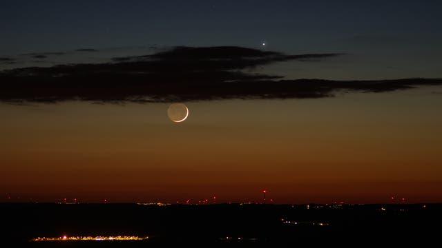 Der Mond und der Götterbote