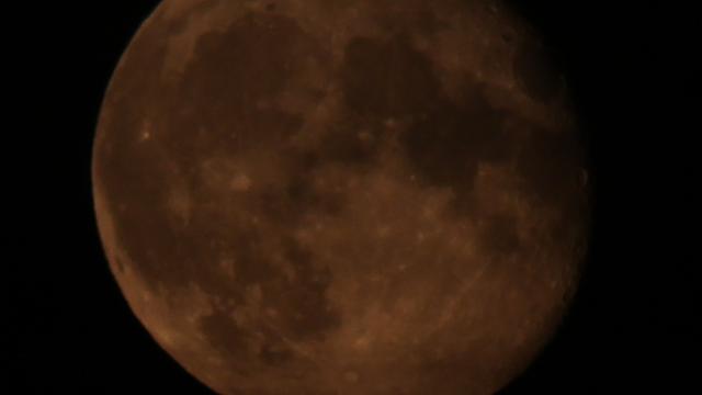 Abnehmender Mond - zwei Tage nach Vollmond