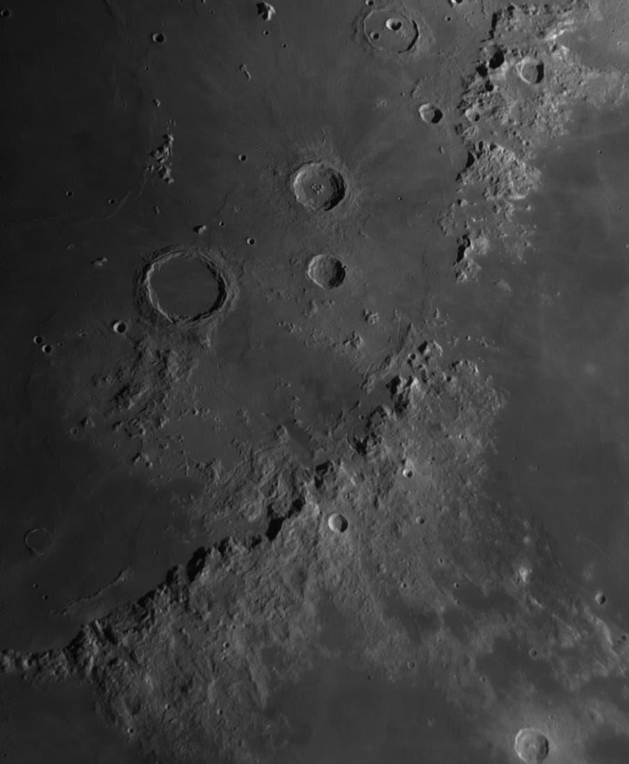 Landestelle von Apollo 15 und Umgebung