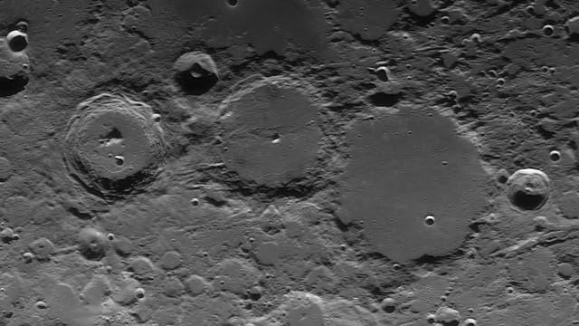 Krater Ptolemaeus, Alphonsus und Arzachel
