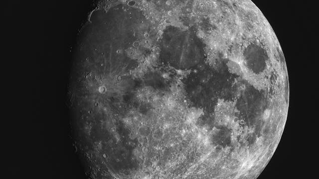 Mond in extremer Libration