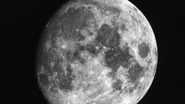 Mond in extremer Libration (2)