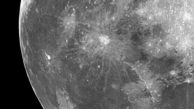Mond in Infrarot am 1.10.2012