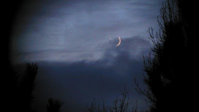 Venusbedeckung am 1. Dezember 2008