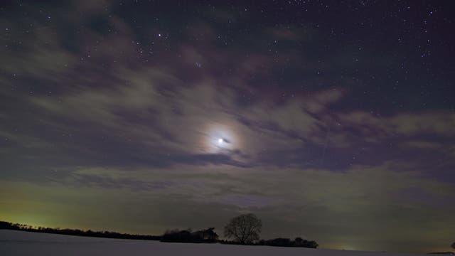 Mondaureole am 15.3.2013