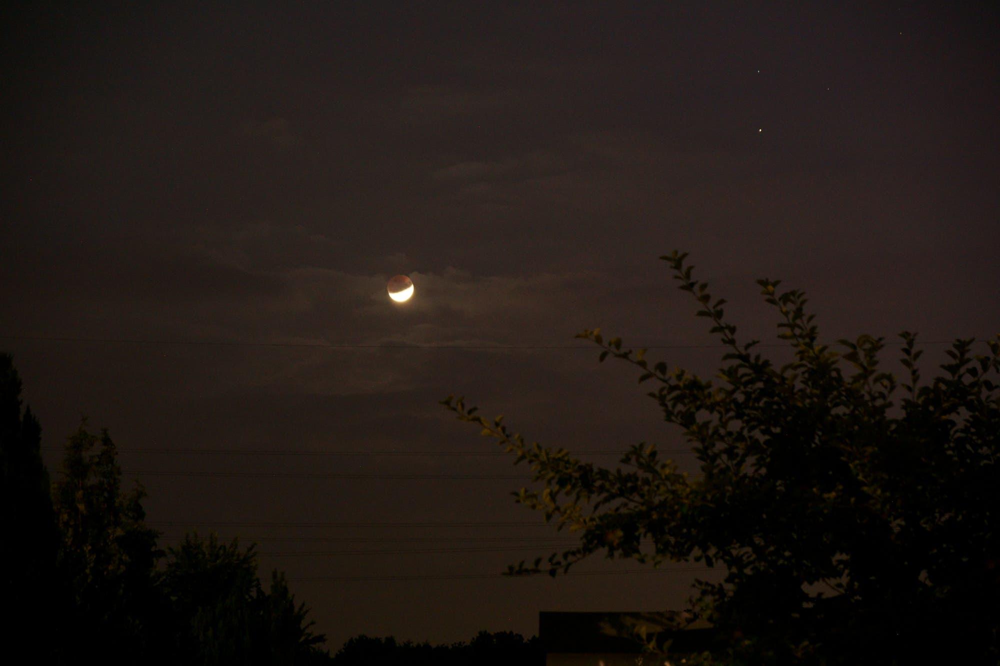 Mondfinsternis 16. Juli 2019 mit Saturn