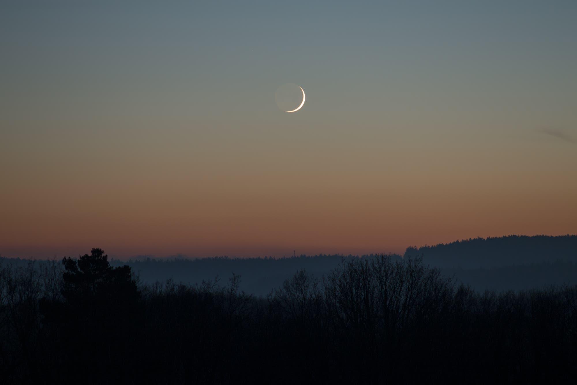 Mondsichel, 48h alt
