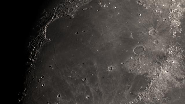 Der Mond vom 15 April 2019 - Mare Imbrium