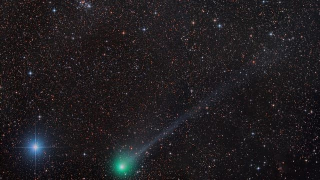 Komet C/2014 Q2 Lovejoy und M 103
