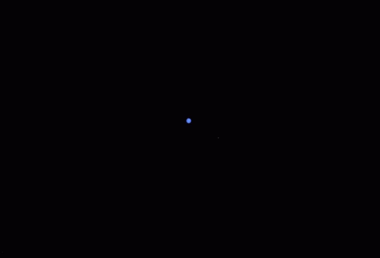 Neptun und Triton am 21.09.2019