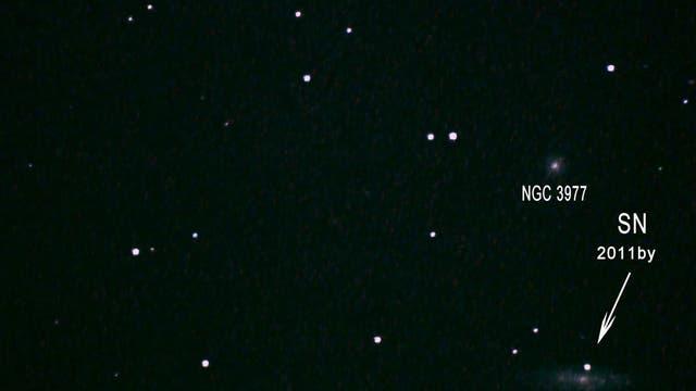 Supernova in Galaxie NGC 3972