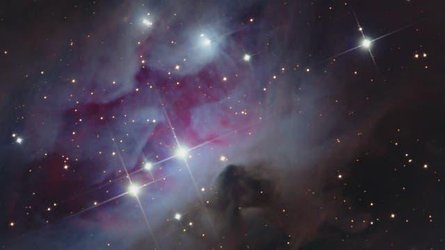 NGC 1977, Running Man