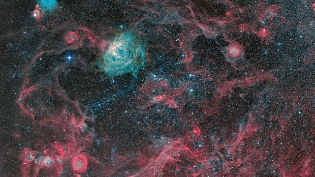 Ein kosmisches Durcheinander