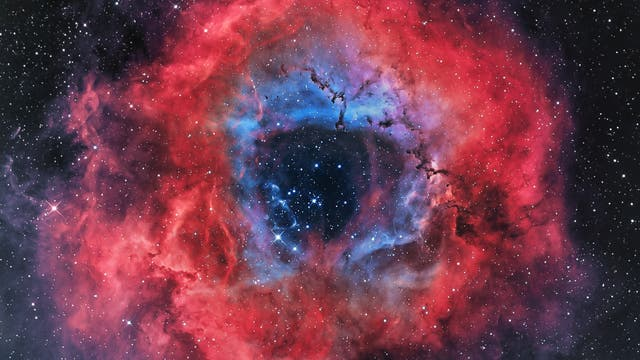 Dere Rosettennebel NGC 2237