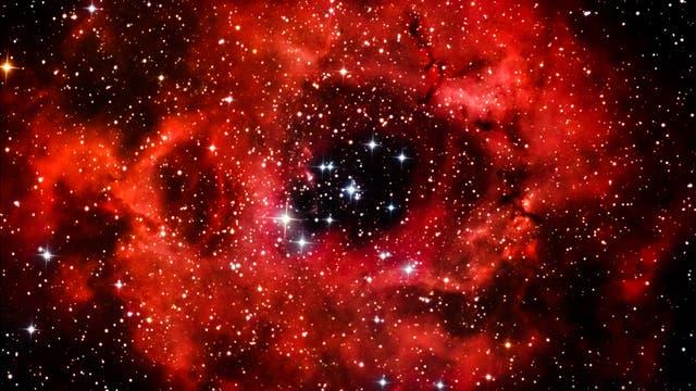 Rosettennebel und NGC 2244