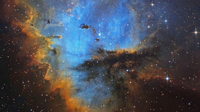 NGC281 Pacman Nebel