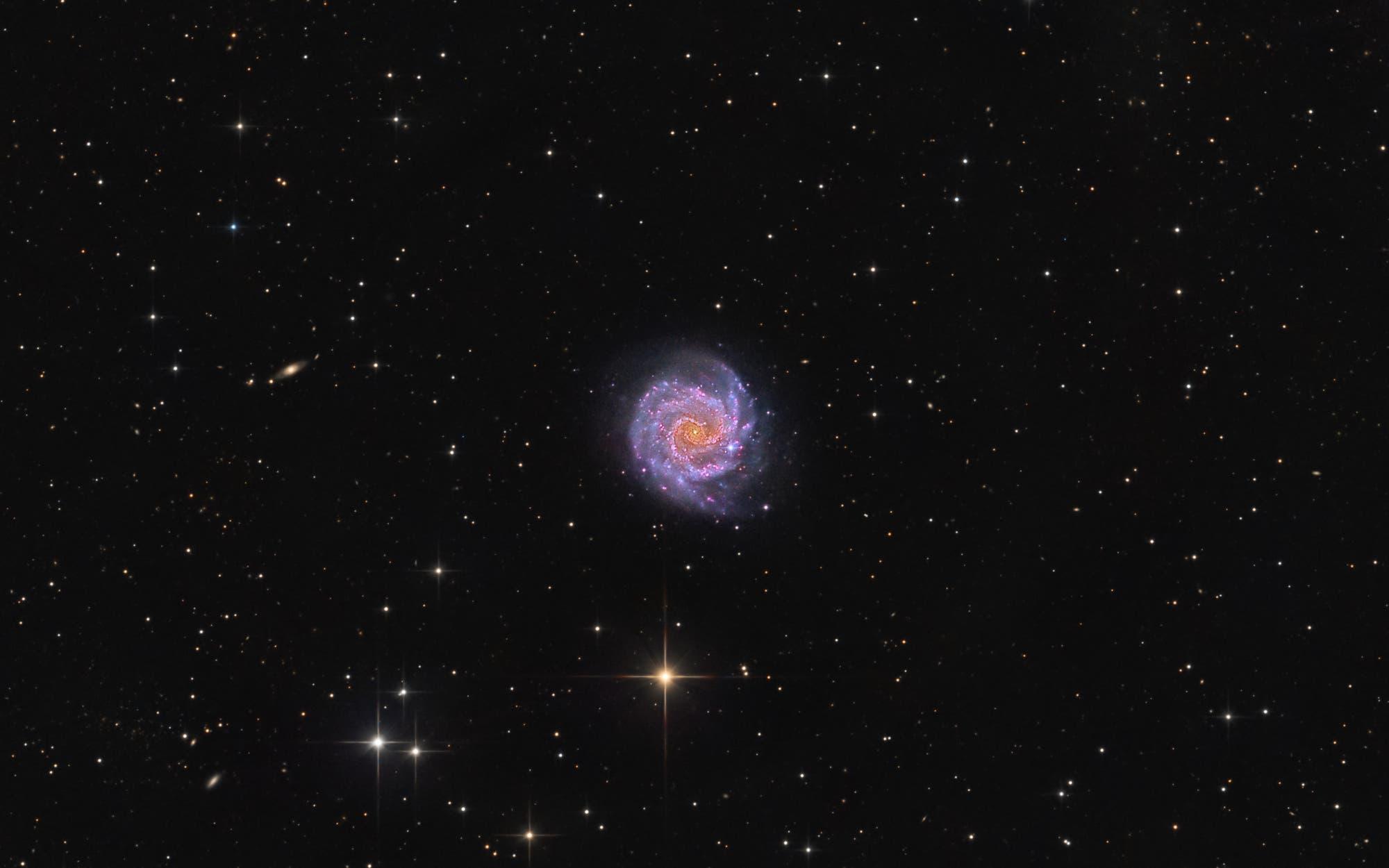 NGC 3184 – Little Pinwheel Galaxy