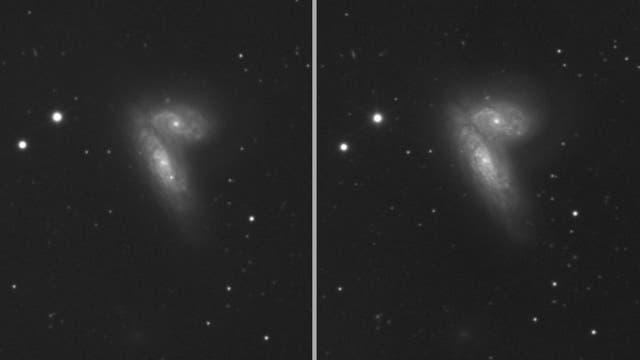 NGC 4567 / 4568  mit und ohne SN 2020fqv