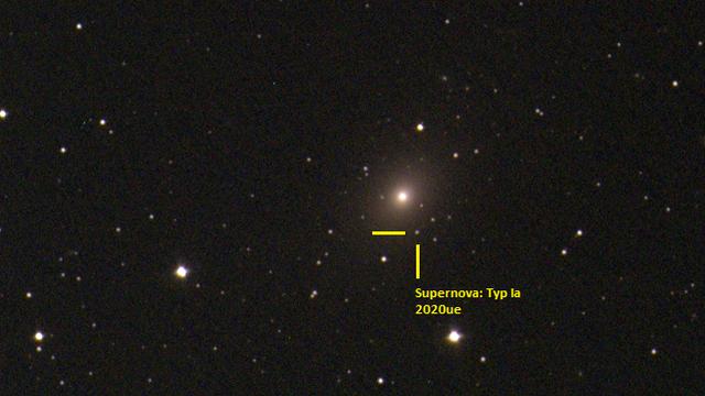 NGC4636 - Supernova Typ Ia ->2020ue (19 Mar 2020) - EAA