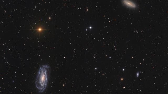 NGC 5002/05/33 in Canes Venatici