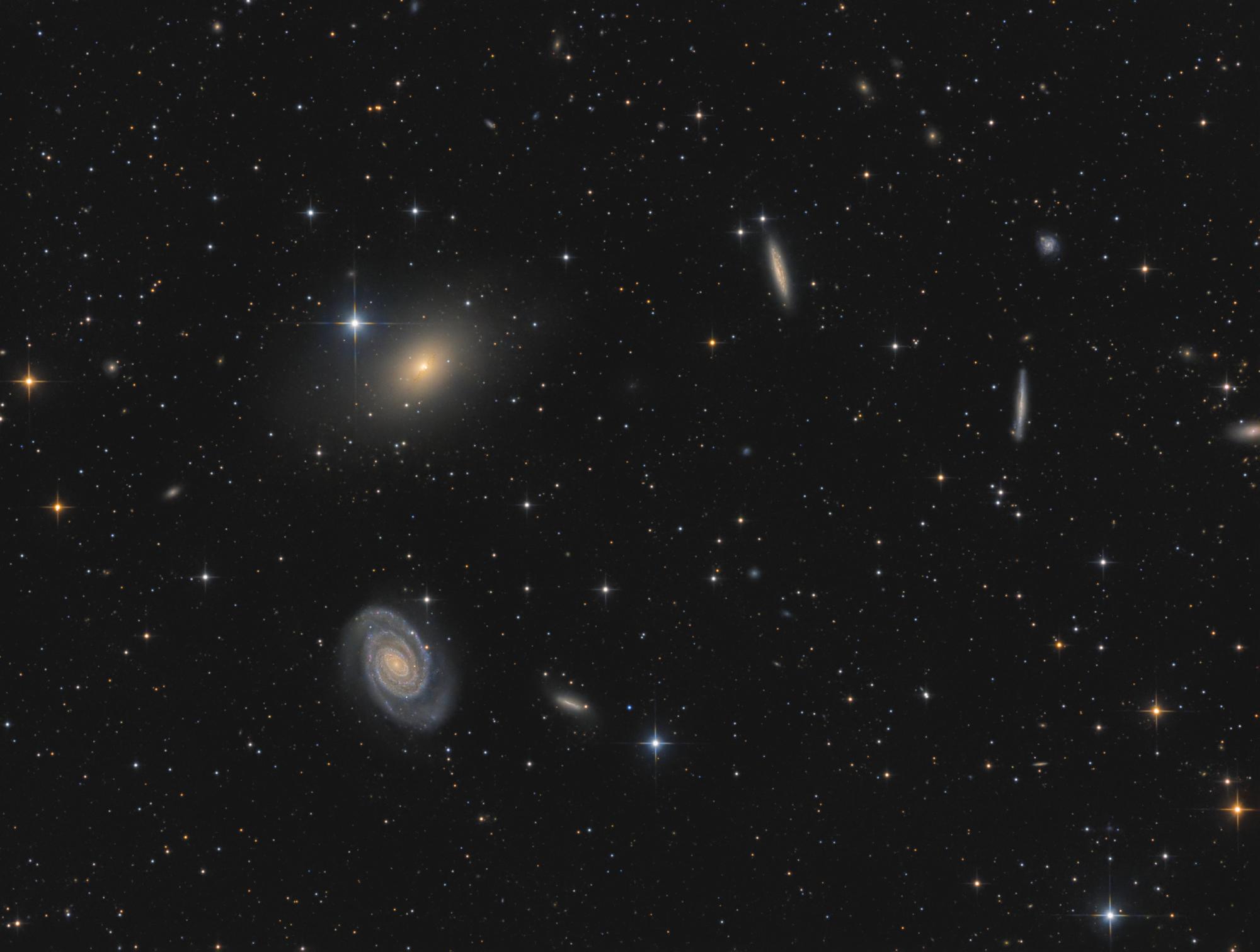 Galaxiengruppe NGC 5363/64
