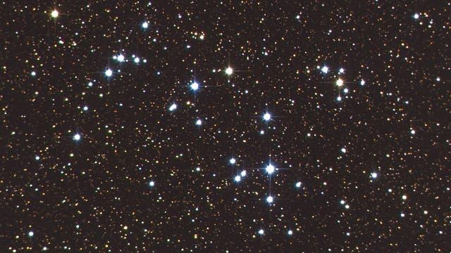 NGC6633  ein  junger offener Sternhaufen im Schlangenträger