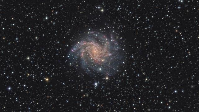 NGC 6946 Feuerwerk-Galaxie