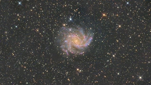 NGC 6946 - Die Feuerwerkgalaxie