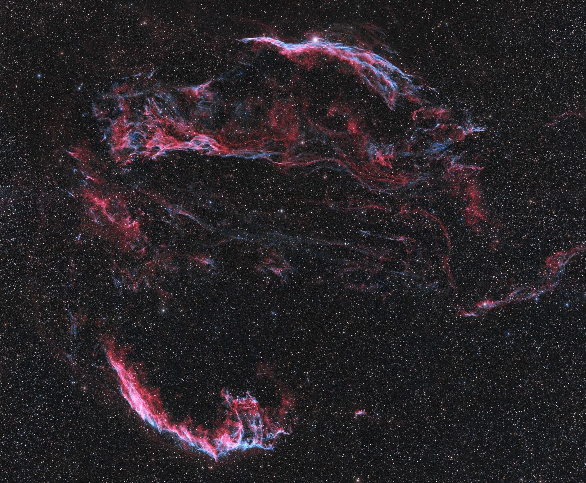 Zirrusnebel, NGC 6960 und NGC 6992
