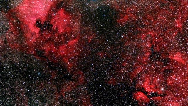 Emissionsnebel im Sternbild Schwan