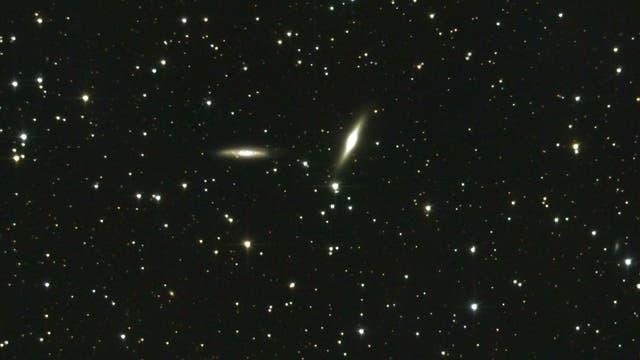 NGC 7332 und NGC 7339: Galaxienpaar im Pegasus
