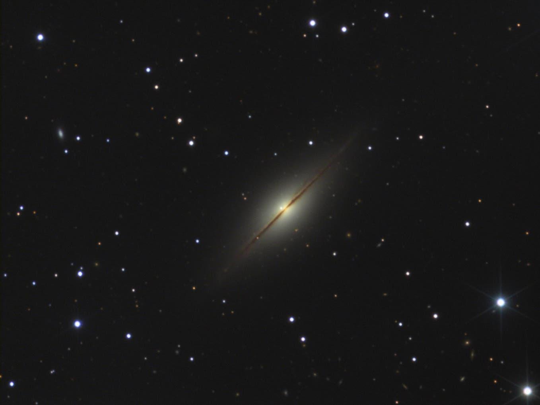 NGC7814 mit Supernova SN2021rhu